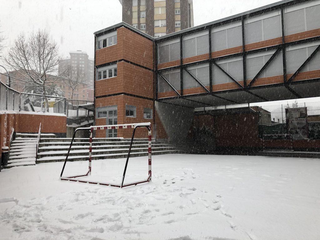 Nevada en el colegio el 29 de febrero 2019